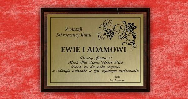 Dyplom/podziękowanie