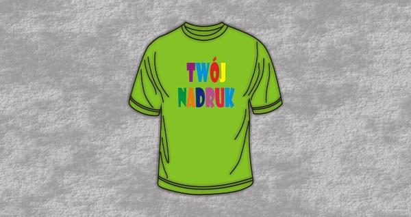 Koszulki z nadrukiem DTG